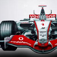 airbrush aerograf custom painting autodrom autoscooter carousel race f1 formula bolid mc laren