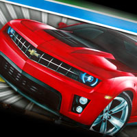 airbrush aerograf custom painting autodrom autoscooter atrraction topgear cars speed chevrolet camaro ss
