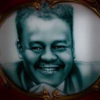 airbrush aerograf malowanie portret blues Fats Domino
