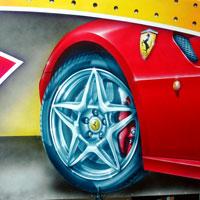 airbrush aerograf autodrom autoscooter dodgems carrousel rollercoaster gasmonkey tuning cars speed rim