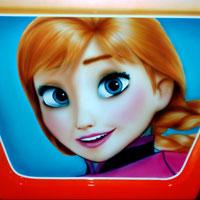 airbrush aerograf painting karuzela ferris wheel disney bajka anna