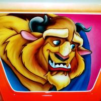 airbrush aerograf painting karuzela ferris wheel disney bajka bestia