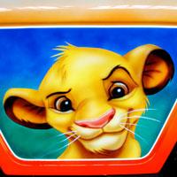 airbrush aerograf painting karuzela ferris wheel disney bajka simba