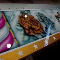 malowanie aerorgafem - ostatnia realizacja