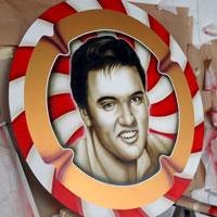 airbrush aerograf graffiti elvis presley portret