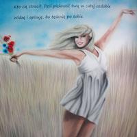 aerograf graffiti dziewczyna kobieta litwa bielsko biała