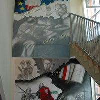 aerograf airbrush graffiti historia polski