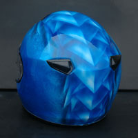 aerograf airbrush dragon ice helmet