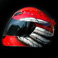 airbrush helmet honda cbr rr