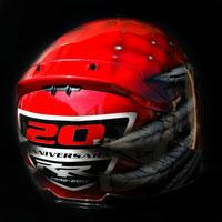 airbrush aerograf kask helmet cbr anniversary
