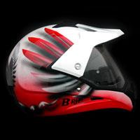 airbrush aerograf kask motocyklowy motorcycle helmet airoh husaria polska poland warrior