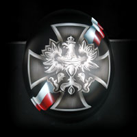 airbrush aerograf custom painting motor bell rogue kask motocyklowy patriotyczny polska poland patriotic helmet motorcycle