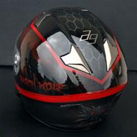 airbrush aerograf black wolf naxa helmet