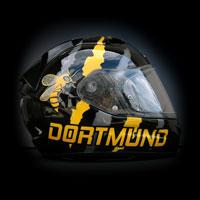 airbrush aerograf malowanie kasku motorcycle Scorpion Exo Borussia Dortmung bee wasp osa pszczoła