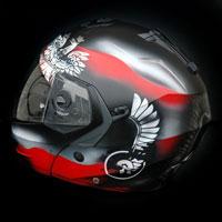 airbrush kask helmet caberg husaria