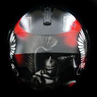 aerograf airbrush kask helmet caberg patriotyczny