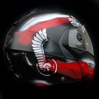 aerograf airbrush kask helmet ultras