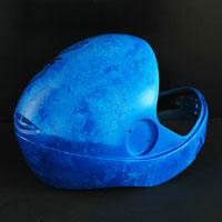 airbrush aerograf helmet ice effect zamrozenie lod