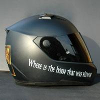 airbrush aerograf nolan rohan helmet