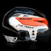 airbrush aerograf helmet kask hokej Jacek Chadzinski Unia Oswiecim