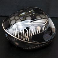 airbrush aerograf unlocked helmet kask malowanie