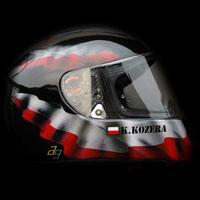 airbrush helmet husaria poland polska