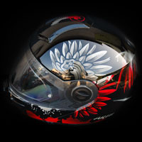 aerograf polska kask husaria patriotyczny