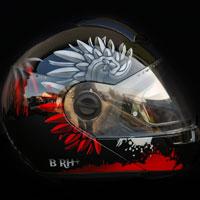 airbrush aerograf helmet kask polska husaria