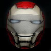 airbrush helmet ironman