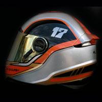 airbrush helmet ls2 go karting max