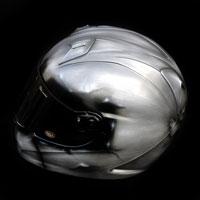 airbrush aerograf kask helmet bell metal effect gladiator