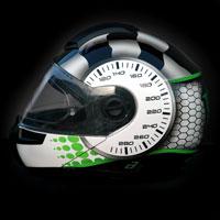 airbrush aerograf kask motocyklowy rajdowy karting