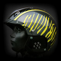 aerograf kask narciarski narty ski casco carbon