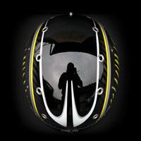 airbrush aerograf kask helmet narciarski ski carbon winter