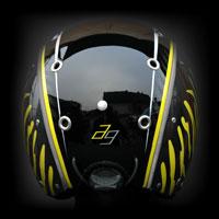 airbrush aerograf kask helmet narty ski carbon