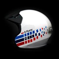 airbrush aerograf kask rajdowy kartingowy helmet bmw m3 onr acs