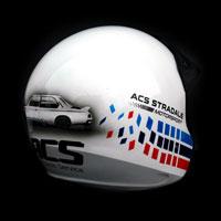 airbrush aerograf kask rajdowy kartingowy helmet race m3 onr acs