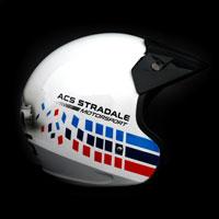 airbrush aerograf kask rajdowy kartingowy helmet race bmw onr acs