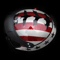 airbrush malowanie aerografem kask paralotnia helmet batman division 303