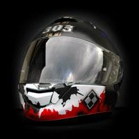 airbrush aerograf kask shoei gt-air dywizjon 303 riffle motorcycle helmet