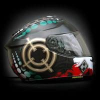 airbrush aerograf kask motor shoei gt-air pogon szczecin sniper riffle helmet