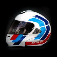 airbrush  malowanie kasku helmet shoei bmw m3 race