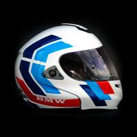 airbrush aerograf malowanie kasku helmet multitec m3 theme bmw
