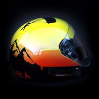 airbrush aerograf kask spadochronowy skydiving helmet skoczek tatry