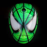 airbrush aerograf malowanie kasku motocykl kask helmet schuberth green spiderman fullface