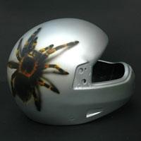 aerograf airbrush tarantula kask helmet