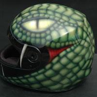 aerograf snake head helmet