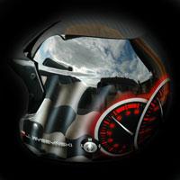 airbrush aerograf helmet race speed kask rajdowy