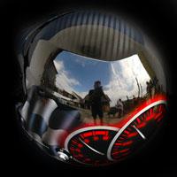 airbrush aerograf helmet race kask rajdowy