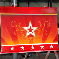 airbrush aerograf graffiti devils wheel star